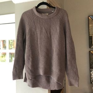 All saints Crew neck wool cashmere  sweater med